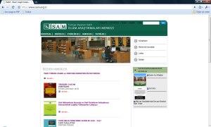 İslam Araştırmaları Merkezi Web Sitesi 31 Aralık 2009