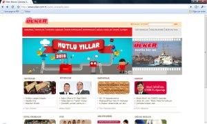 Ülker Web Sitesi 31 Aralık 2009