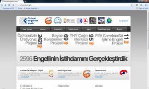Fiziksel Engelliler Vakfı Web Sitesi