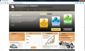 Otomotiv İnsanı Web Sitesi